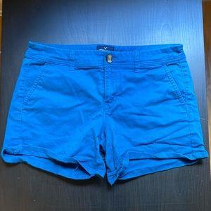 American Eagle MIDI Teal Shorts Size 10